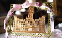 Card made using the Create-a-Card Downton Abbey dies from Crafter's Companion Craft Supplies Uk, Sheena Douglass, Crafters Companion Cards, Rice Paper, Downton Abbey, Greeting Cards Handmade, Craft Projects, Card Making, Delicate