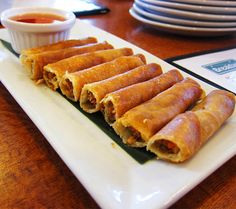 Lumpia Recipes: learned to make lumpia when living on Guam.great with pancit. Lumpia Recipes: learned to make lumpia when living on Guam.great with pancit. Guam Recipes, Filipino Recipes, Cooking Recipes, Filipino Food, Filipino Dishes, Asian Recipes, Filipino Appetizers, Half Filipino, Unique Recipes