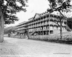 Mt. Pocono, Pennsylvania, Pocono Mountain House, 1905, historic photo