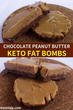 Peanut Butter Chocolate Fat Bombs