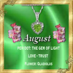 August Birthstone Meaning