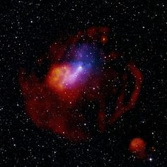 A massive star explodes in our Milky Way galaxy leaving behind a rapidly spinning neutron star known as a pulsar.