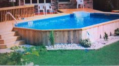 Pool n deck i want at my next home