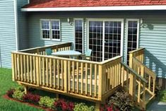Free pictures of deck plans for a small backyard | add this plan to my plans houzz project plan 90002 easy raised deck ...