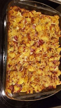 Hearty peasant casserole, a nice recipe from the category potatoes. - Hearty peasant casserole, a nice recipe from the category potatoes. Casserole Recipes, Pasta Recipes, Appetizer Recipes, Crockpot Recipes, Chicken Recipes, Snack Recipes, Dinner Recipes, Healthy Recipes, Soup Appetizers