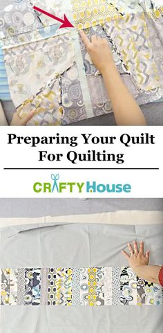 Back To Basics: Tips On Prepping A Quilt For Quilting