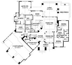 Exercise room in basement...redo utility and that room into utility/craft/large mud room...