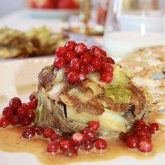 Kålpudding a la Stina Swedish Recipes, Fall Recipes, Baked Potato, Yummy Treats, Quinoa, French Toast, Oatmeal, Food And Drink, Cooking Recipes