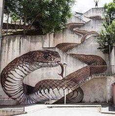 #Street art by Sfhir in Spain.