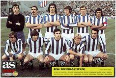 REAL SOCIEDAD 1973-74 Football Cards, Football Shirts, Football Players, San Sebastian Santo, Carlos Martinez, Everton Fc, International Football, John Wayne, Real Madrid