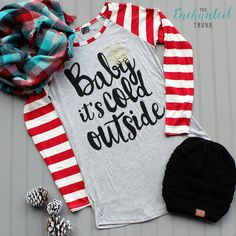 Baby It's Cold Outside Top S-L