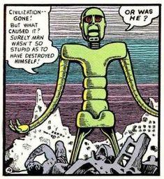 (1) Tumblr Basil Wolverton, Old Comic Books, Retro Humor, Retro Funny, Comic Book Panels, Old Comics, Retro Illustration, Panel Art, Geek Culture