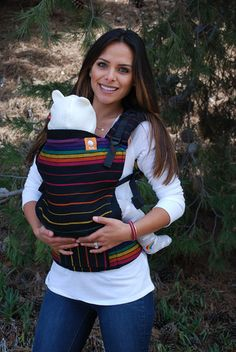 Girasol Rainbow Daze TULA BABY CARRIER * I AM SAVING TO BUY YOU ONE OF THESE @beccalynnca FOR ANSLEY GRACE BECAUSE SHE NEEDS ONE...THEY HAVE LOTS MORE COLORS AND PATTERNS :)
