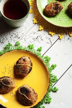 Behyflora... la vie en rose: Madleines with Orangecurd and poppy seeds