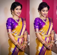 Beautiful pattu saree blouses designs Read more about ~ Wedding Saree Blouse Designs, Pattu Saree Blouse Designs, Blouse Designs Silk, Blouse Patterns, Saree Wedding, Wedding Dresses, Party Looks, Saree Color Combinations, Simple Blouse Designs