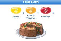 Fruit Cake Jelly Belly Recipe Fun Recipes, Candy Recipes, Recipies, Dessert Recipes, Desserts, Jelly Belly Beans, Jelly Beans, Ice Cream Cookies, Best Candy