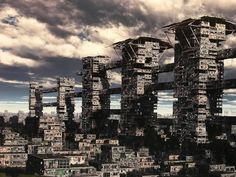 giacomo costa art - Google Search Art Google, Costa, New York Skyline, Skyscraper, Sci Fi, Google Search, Building, Travel, Skyscrapers