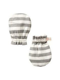 Organic stripe mittens | Gap