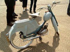 50's moped [via davydutchy @flickr]