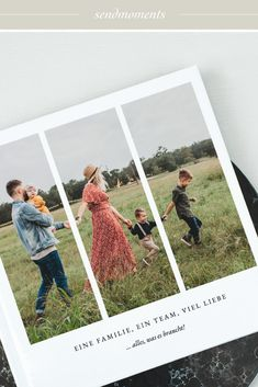 Fotobuch Grateful Moment Detail +++ NEW NEW NEW +++ One family, one team, lots of love!