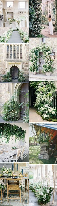 Floral Arches & Foliage Installations For Summer Weddings