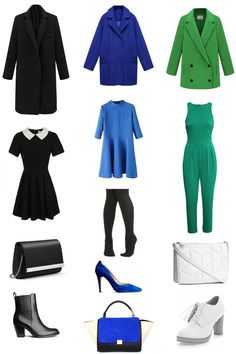 Color analysis CLEAR COOL true BEST LOOKS. Outfits, clothing, fashion, trend. http://www.idealiststyle.com/blog/best-clear-cool-true-looks