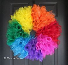 Image result for rainbow decorations