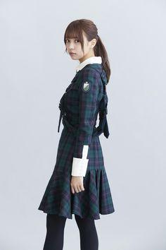由依ちゃん Cute School Uniforms, School Uniform Fashion, School Uniform Girls, Girls Uniforms, Mori Girl Fashion, Lolita Fashion, Japanese Street Fashion, Asian Fashion, Moda Lolita