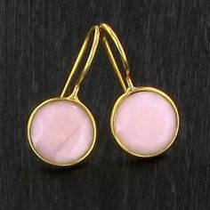 BO Round opale rose - plaqué or http://www.by-johanne.com/boucles-d-oreilles/1747-bo-round-opale-rose-plaque-or.html