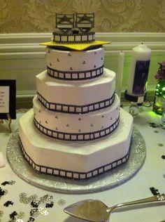 My wedding cake- it was movie themed