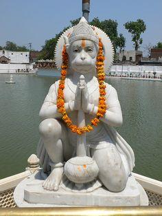 You are complete when every question that arises in you blooms, flowers and turns into wonder. / Punjab in India Hanuman Pics, Hanuman Chalisa, Hanuman Images, Durga, Hanuman Hd Wallpaper, Lord Hanuman Wallpapers, Hindu Deities, God Pictures, Indian Gods