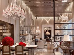 The Baccarat Hotel on Fifth Avenue looks like a mini version of Versailles. Check out Gabrielle Jammal's story, who runs the tea hour, here.