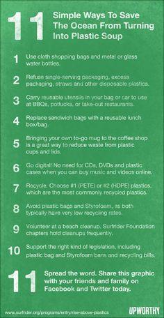 No more plastic! #green #sustainability #rmogreen