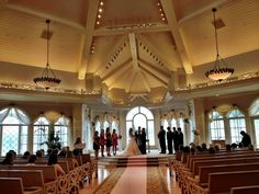 A Wedding In The Walt Disney World Chapel