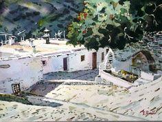 Rincon alpujarreño ( Acuarela )