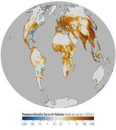 I paesi dove si muore di più d'inquinamento