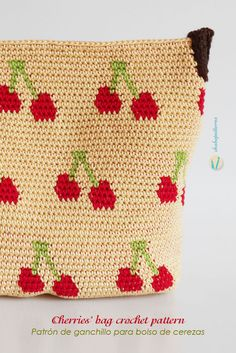 Free pattern with chart and written instructions/ Patrón gratis con esquema e instrucciones escritas by Chabepatterns