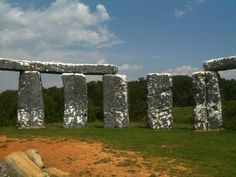 Foamhenge - near the natural bridge zoo