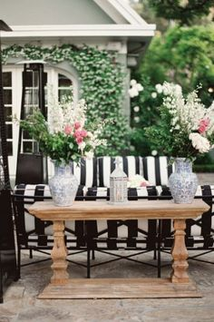 Black And White Outdoor Space Ideas 8