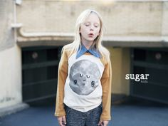 Chloe de Sugar Kids para Milk Magazine