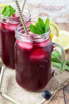 Blueberry Lemonade | Annie\\\'s Noms on http://MyRecipeMagic.com