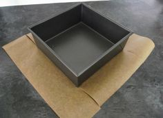 Lining a Square Baking Tin