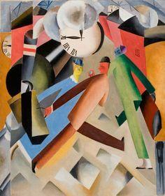 """Jais Nielsen: """"Afgang"""", 1918."""