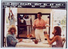 Jacques Demy directs Catherine Denueve and Francoise Dorleac in Les Demoiselles De Rochefort