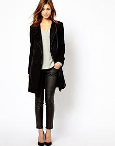 Shop Day Anika Biker Coat in Wool Tweed at ASOS. Asos Online Shopping, Online Shopping Clothes, Latest Fashion Clothes, Fashion Online, Leather Fashion, Mens Fashion, Tweed, Style Me, Biker