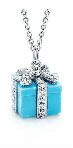 #Tiffany Blue Box pendant ....... adore this