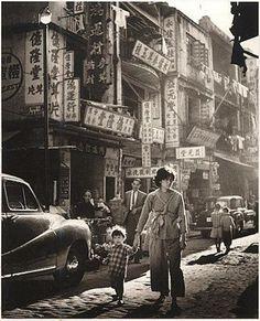 Hong Kong - Ko Shing St - 1957