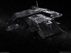Spacecraft of star gate | Daedalus - Stargate SG-1 & Stargate Atlantis