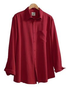 Men's Long-Sleeve Sedona Silk Shirt