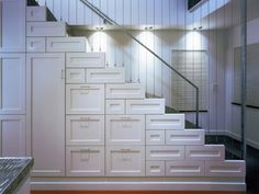 A very cool look!   60 Unbelievable under stairs storage space solutions
